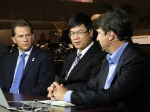 The Cube/SiliconANGLE TV Sapphire 2013 with James Yen of West Pharma and John Furrier