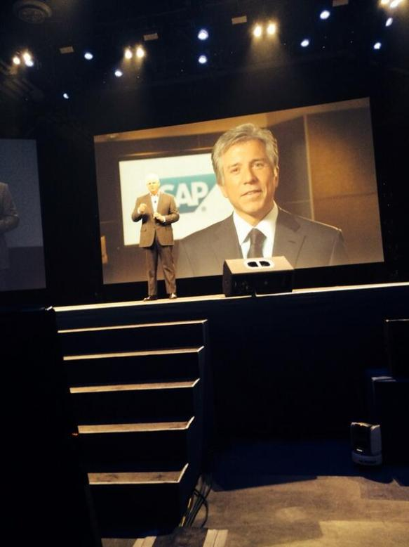 Bill McDermott at EMCWorld