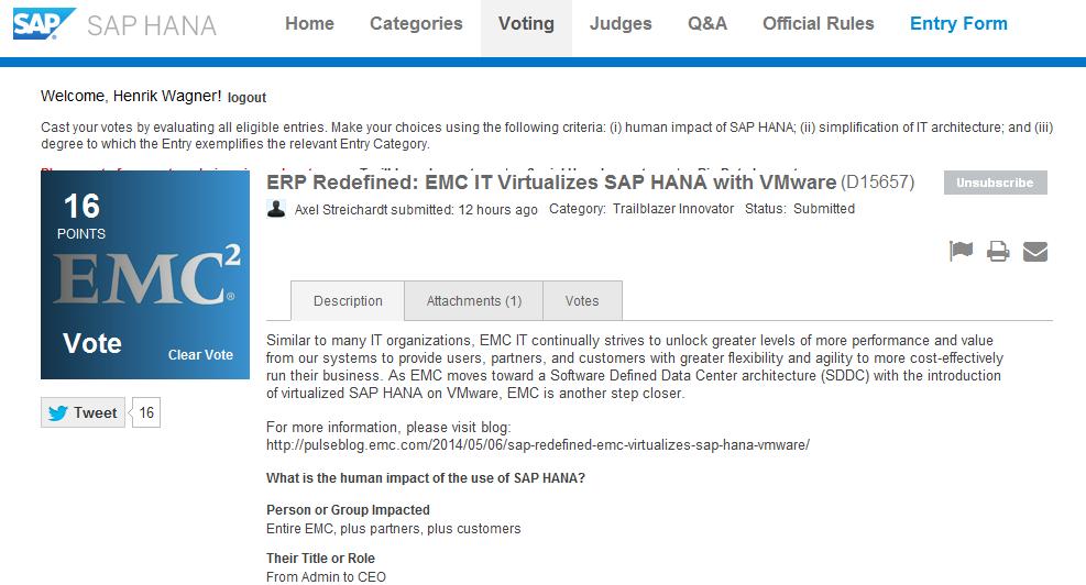 Henrik Wagner | The SAP Business guy at Virtustream including EMC